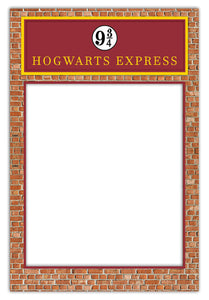 Harry Potter Platform 9 3/4 (80 x 110 cm) Harry Potter Party Decorations