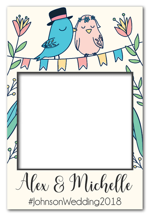 love_birds_wedding_engagement_photo_booth_frame_prop_australia