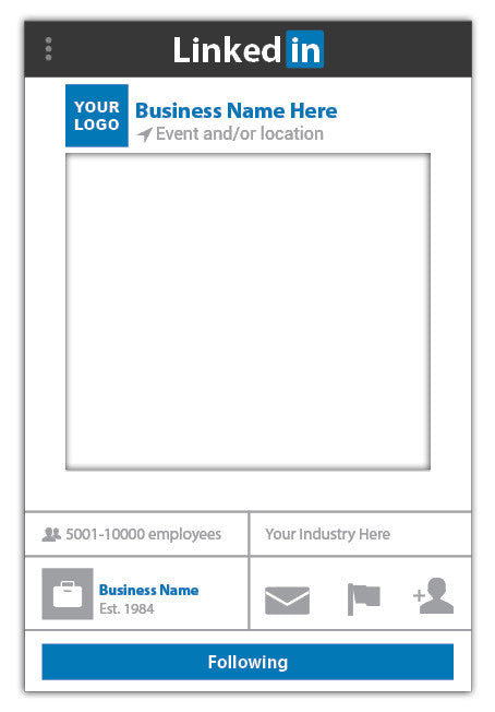 linkedin-prop-photo-booth-frame-business-medium