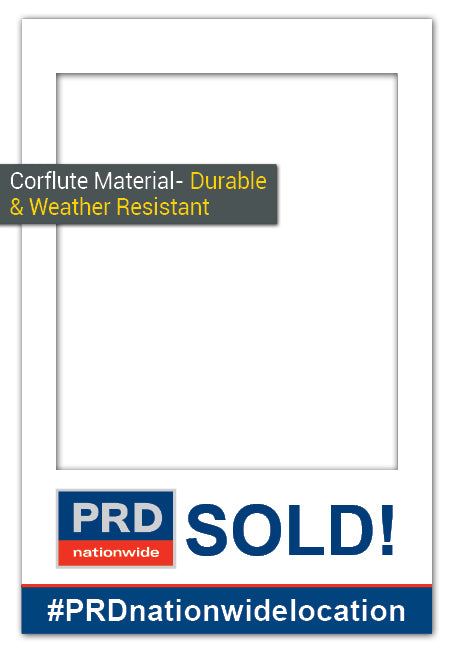 PRD Nationwide SOLD! - Medium (60 x 90 cm) Corflute