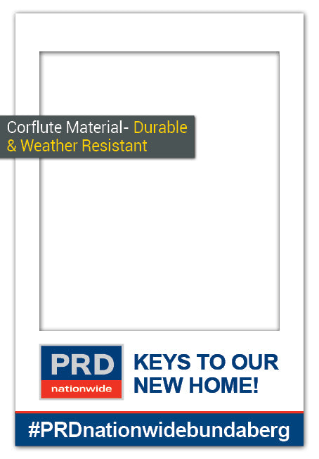 PRD Nationwide Custom Frame - Large (85 x 115 cm) Corflute