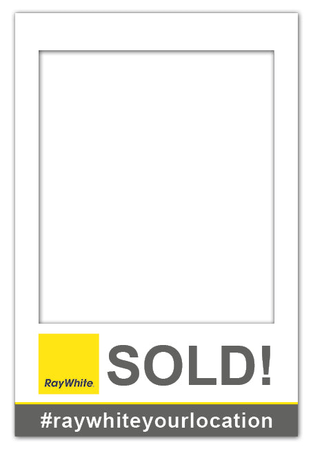Ray White SOLD! - Large (80 x 110 cm)