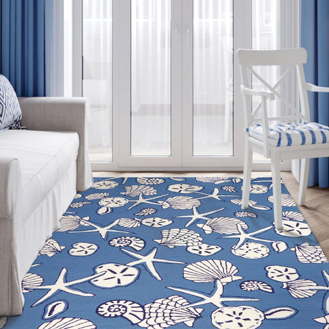 Coastal Outdoor Rug