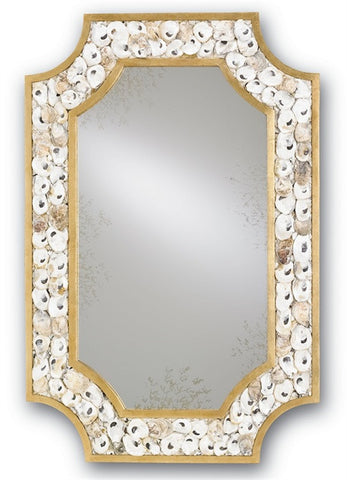 Margate Shell Mirror - By the Sea Beach Decor