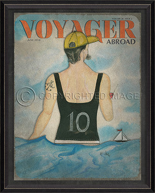 Voyager June 2016 Framed Art - By the Sea Beach Decor