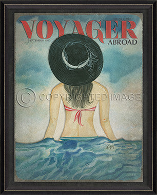 Voyager May 2009 Framed Art - By the Sea Beach Decor