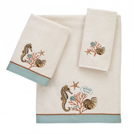 Seaside Vintage Beach Bath Towel Collection