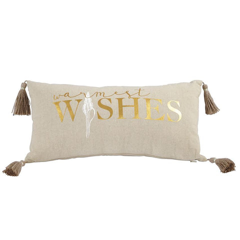 Sea Christmas Pillow - By the Sea Beach Decor