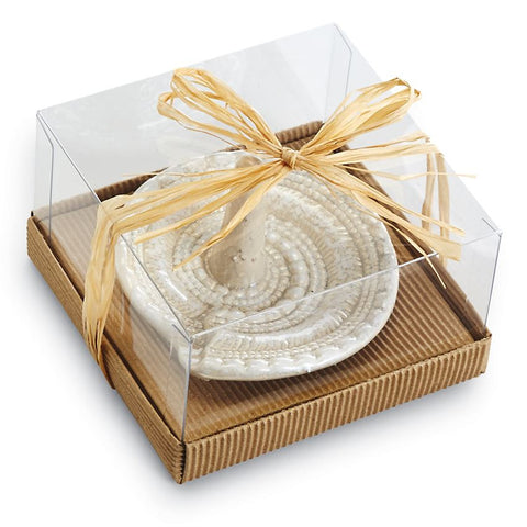 Coastal Gift Nautilus Ring Holder