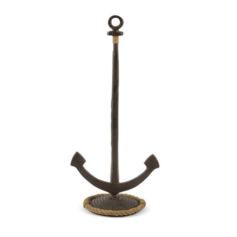 Paper Towel Holder Anchor - By the Sea Beach Decor