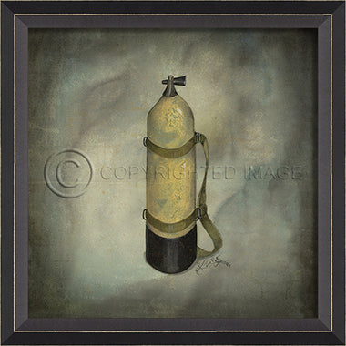 Nautical Artwork Scuba Gear