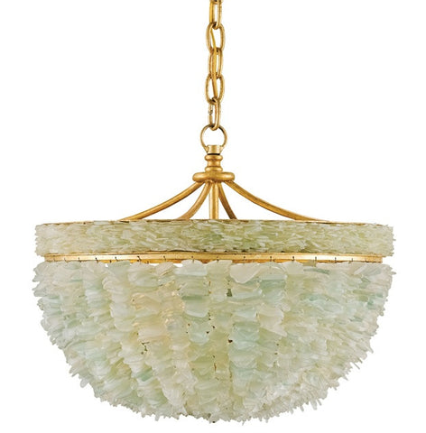 Bayou Seaglass Chandelier - By the Sea Beach Decor