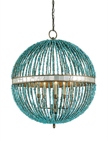 Alberto Orb Coastal Lighting Chandelier