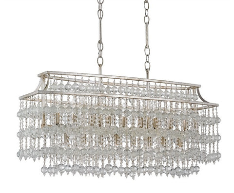 Rainhill Rectangular Chandelier - By the Sea Beach Decor