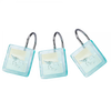 Coastal Bath Blue Waters Shower Hooks