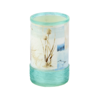 Coastal Bath Accessories Blue Water Tumbler