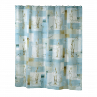 Coastal Bath Blue Waters Shower Curtain