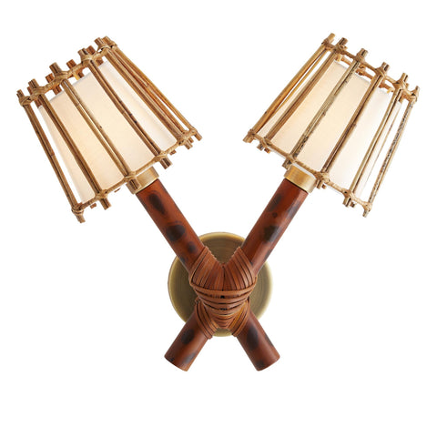 Avalon Coastal Wall Sconce - By the Sea Beach Decor