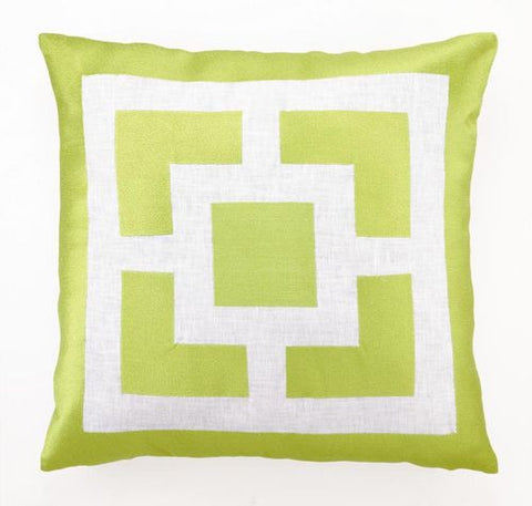 "Palm Springs Lime 20"" Pillow - By the Sea Beach Decor"