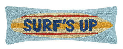 Surf's Up Beach Throw Pillow