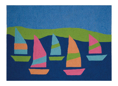 Regatta Coastal Throw Rug