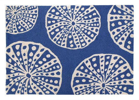 Sea Urchin Coastal Rug