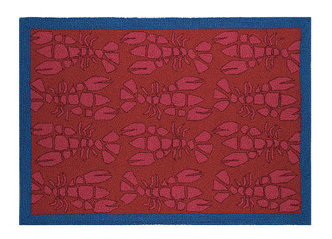 Lobster Hook Rug - By the Sea Beach Decor