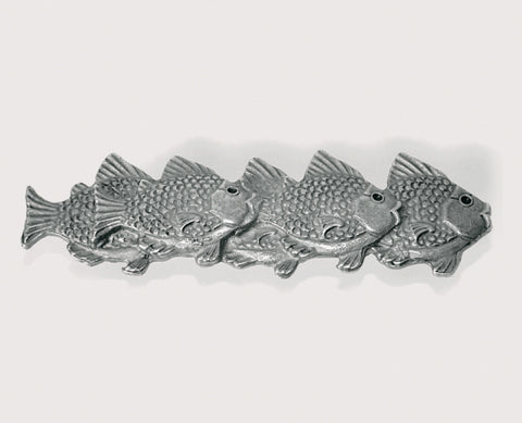 School of Fish Beach Decor Cabinet Handle, Right - By the Sea Beach Decor