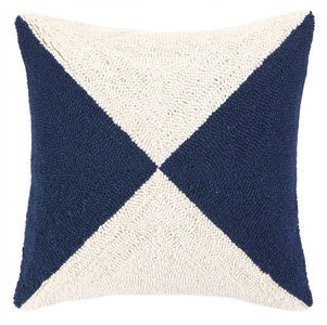 Rehoboth Flag Hook Pillow - By the Sea Beach Decor