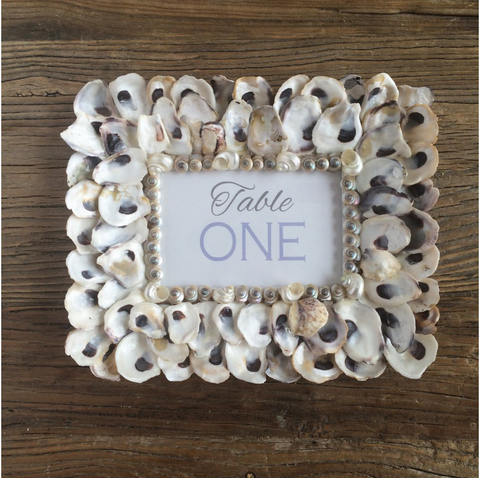 Oyster Coastal Picture Frame
