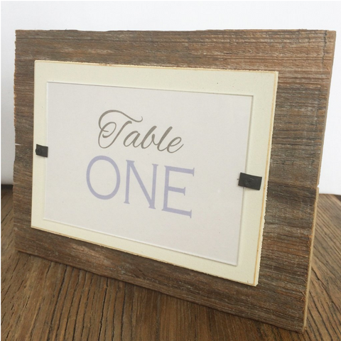 Reclaimed Wood Beach Picture Frame