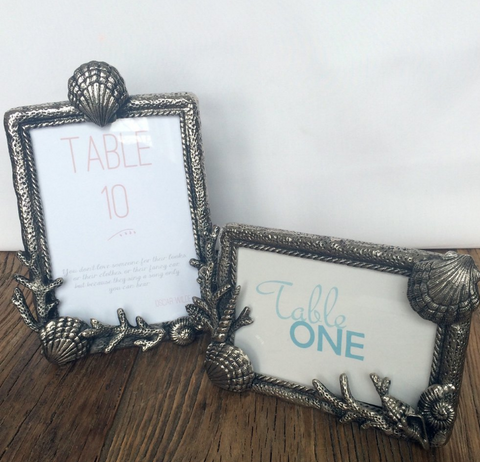 Sealife Metal Frames - By the Sea Beach Decor