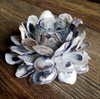 Oyster Shell Votive Holder - By the Sea Beach Decor