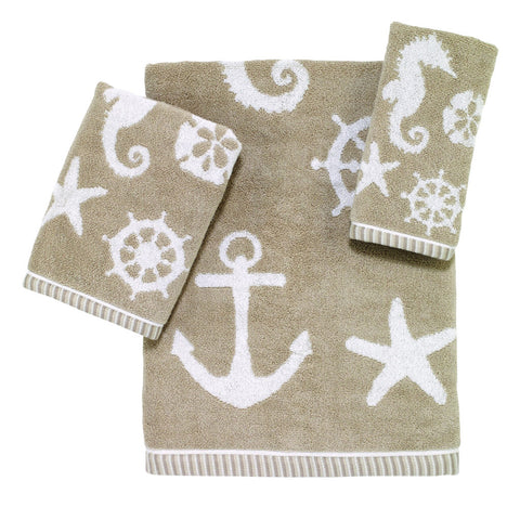 Sea & Sand Towel Collection - By the Sea Beach Decor