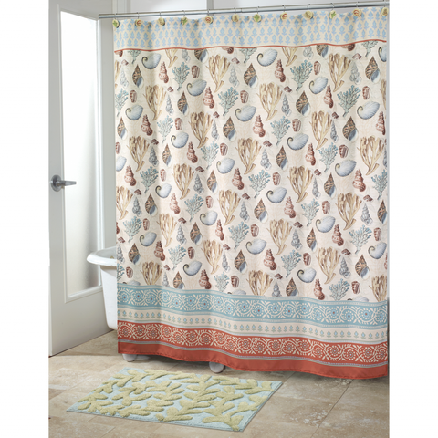 Seabreeze Beach Bath Shower Curtain