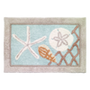 Seaglass Shower Accessories - By the Sea Beach Decor