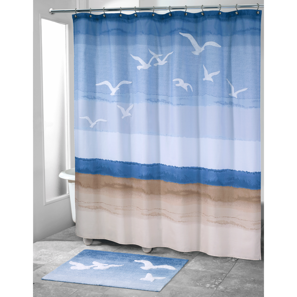 Seagulls Beach Bath Shower Accessories