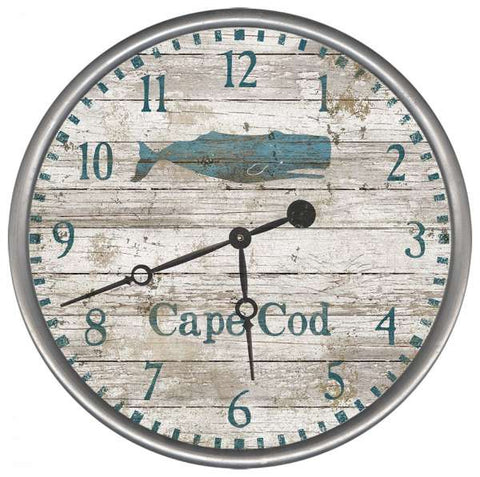 Seacliff Whale Beach Clock - By the Sea Beach Decor
