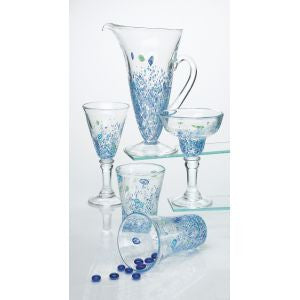 Monet By the Sea Beach Decor Glassware