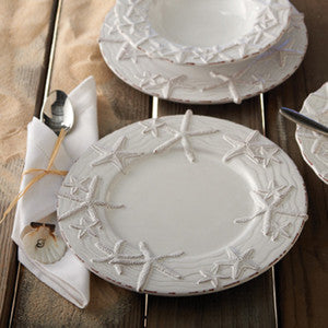 Starfish Beach Decor Dinnerware Plates