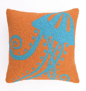Jellyfish Hook Pillow - By the Sea Beach Decor