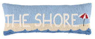 The Shore Beach Throw Pillow