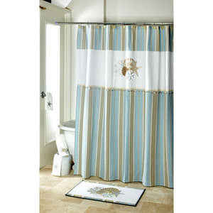 By the Sea Shower Accessories - By the Sea Beach Decor