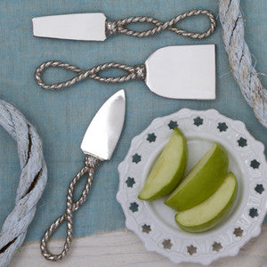 Know the Ropes Cheese Set - By the Sea Beach Decor