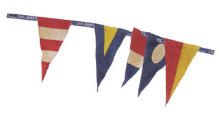 Nautical Decor Flag Garland Pennant