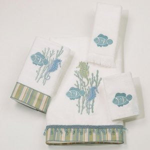 Reef Life Towel Collection - By the Sea Beach Decor