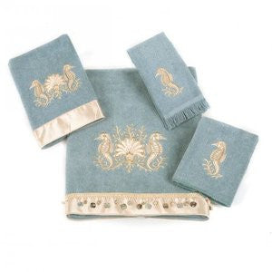 Seahorse Mineral Beach Bath Towel Collection
