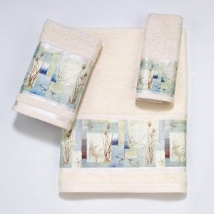 Coastal Bath Blue Waters Towel Collection