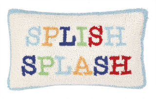 Splish Splash Hook Pillow - By the Sea Beach Decor