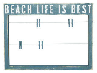 Beach Frame Beach Life is Best